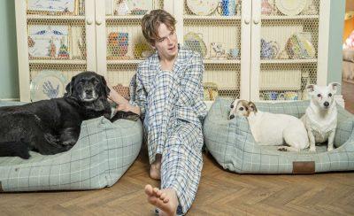 Boys Check Pyjamas
