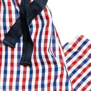 Boys Red Check Pyjamas