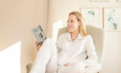 Ladies White Pyjamas