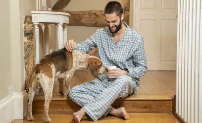 Mens Check Pyjamas
