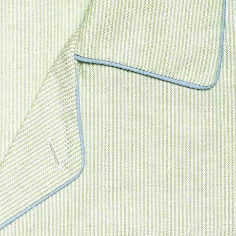 Mens Green Stripe Pyjamas