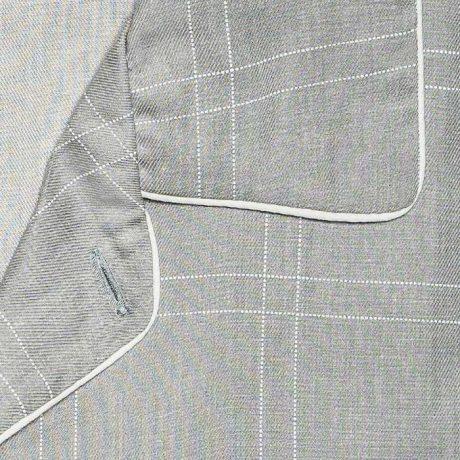Mens Grey-Check Pyjamas