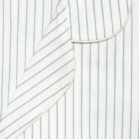 Womens Grey Stripe Pyjamas