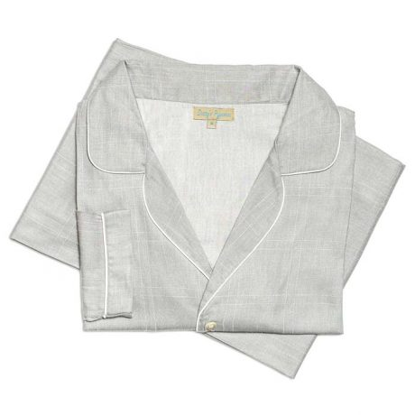 Womens Grey Check Pyjamas