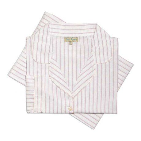 Womens Light & Dark Pink Pyjamas