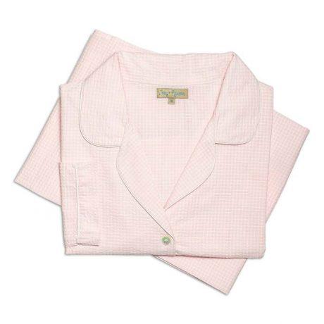 Womens Pale Pink Pyjamas